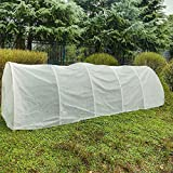 Agfabric Warm Worth Roll Heavy Floating Row Cover & Plant Blanket, 0.9oz Fabric of 6x500ft for Frost Protection, Harsh Weather Resistance& Seed Germination