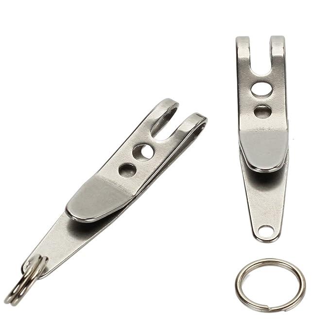Amazon.com: 2pcs multiuso EDC Suspensión cinta y mosquetones ...