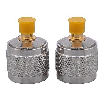 Alta calidad SMA hembra a N macho conector RF coaxial adaptador de cable conversor de Jack conector: Amazon.es: Electrónica