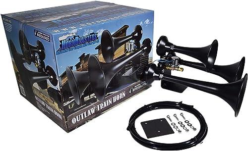 Outlaw Black Train Horn