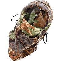 Gorro de camuflaje con protección de cara completa