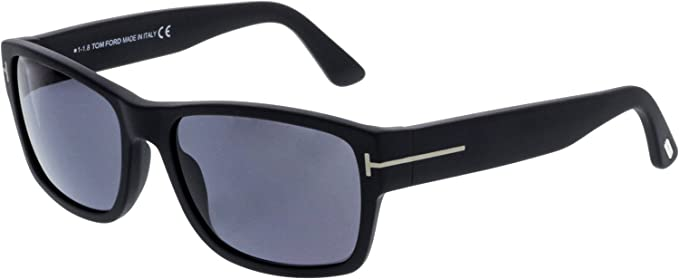 68acd73708 Image Unavailable. Image not available for. Color  Tom Ford Men s Mason  TF445 TF445 S 02D Black Fashion Sunglasses 58mm
