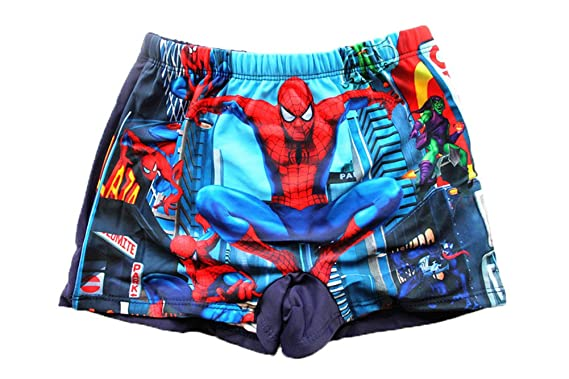 940ecba73b FREE 1st CLASS DELIVERY Boys Kids Swimming Trunks Shorts Beach Spider-Man A  Character Design 2-8 Years (5-6 Years): Amazon.co.uk: Clothing