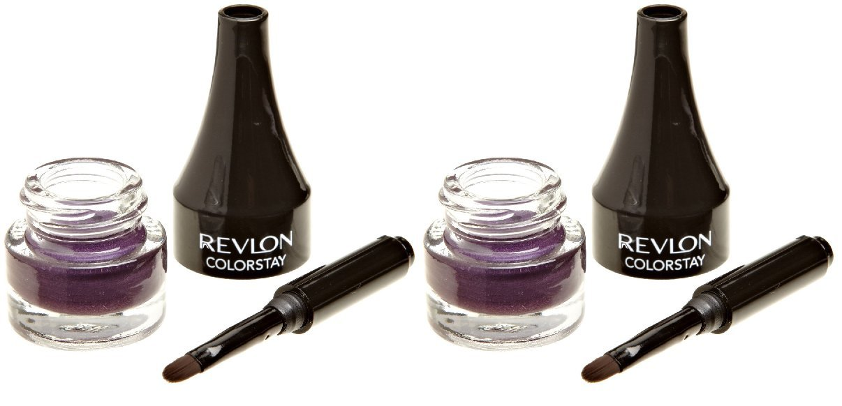 (X2) Revlon ColorStay Creme Gel Eye Liner Easy Glide #003 Plum 2 Pack!