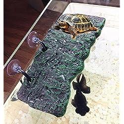 Turtle Floating Island PU Foam Aquarium Float Decoration Bask Platform Toy Crawler Sun Roof Terrace Climb Brazilian Tortoise