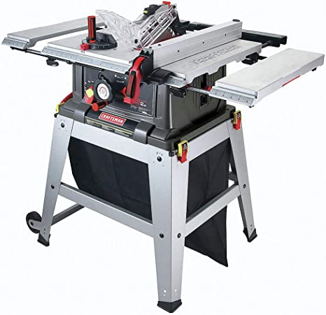 """Craftsman 21807 10"""" Table Saw with Laser Trac"""