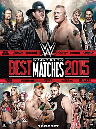 WWE: Best Pay-Per-View Matches of 2015 Collection
