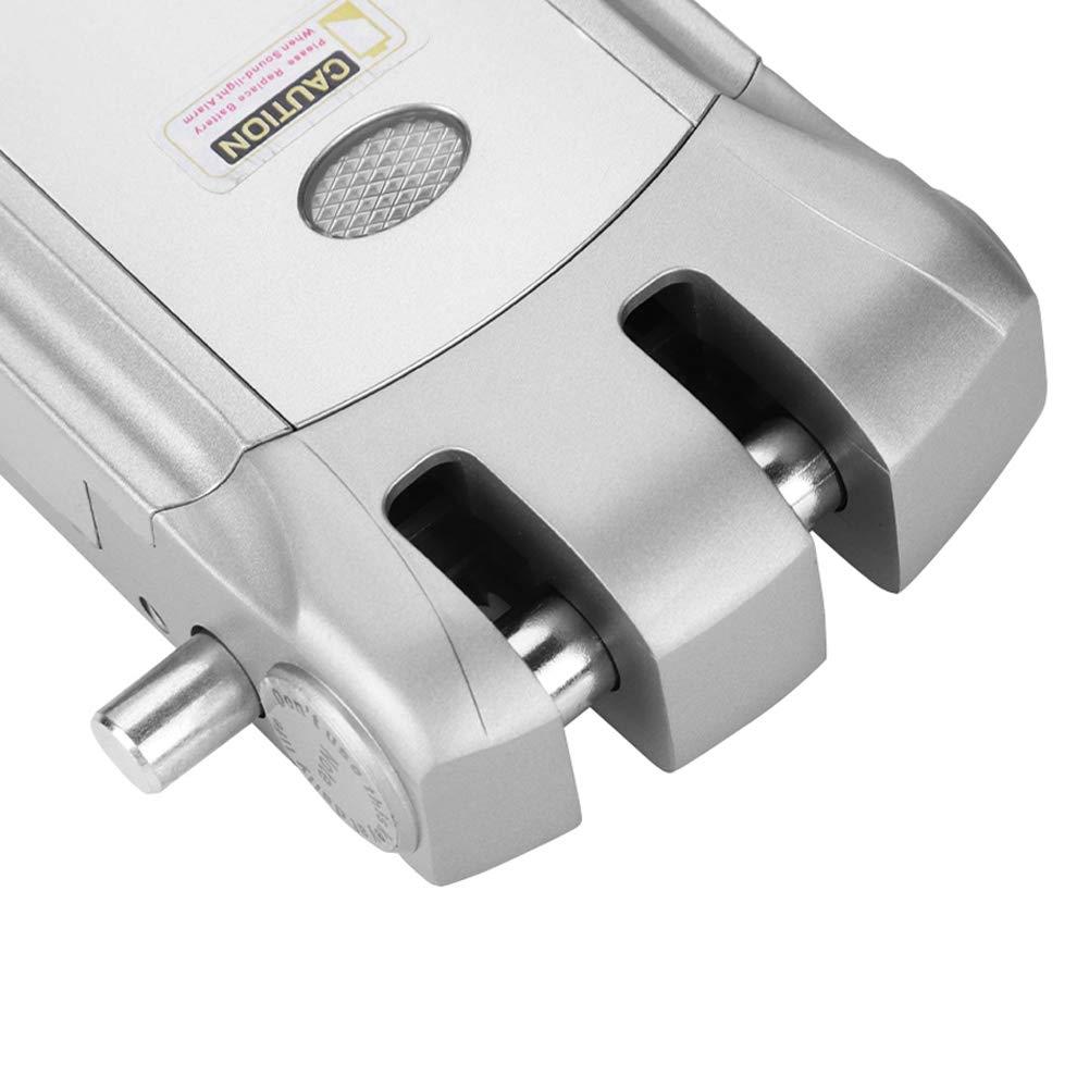 Cerradura de Control Remoto Cerradura electr/ónica de Control Remoto inal/ámbrico sin Llave Invisible Cerradura electr/ónica