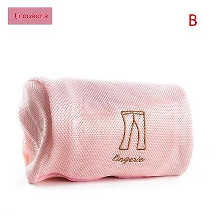 sothread cordón sujetador ropa interior bolsas para ropa sucia hogar herramientas de limpieza Lavado Rosa