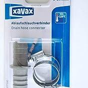 xavax verbindungsst ck f r wasch und sp lmaschinen ablaufschl uche inklusive 2. Black Bedroom Furniture Sets. Home Design Ideas