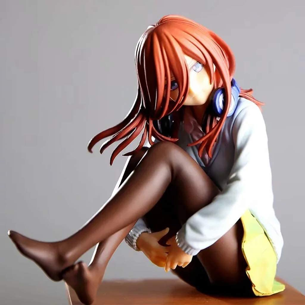 Anime The Quintessential Quintuplets Miku Nakano 1//8 Scale Figure Figurine Toy
