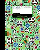 "Reading Log: Gifts for Book Lovers / Reading Journal [ Softback * Large (8"" x 10"") * Pandas, Butterflies & Owls * 100 Spacious Record Pages & More... ] (Reading Logs & Journals)"