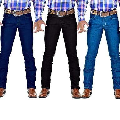 2c95c05d688b55 Calça Jeans Masculina Country Slim Rodeio: Amazon.com.br: Amazon Moda