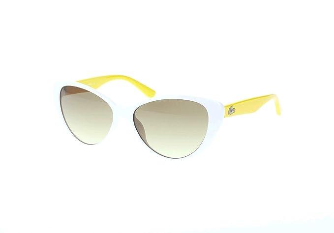 Lacoste Sonnenbrille L3602S Gafas de Sol, Blanco (Weiß ...