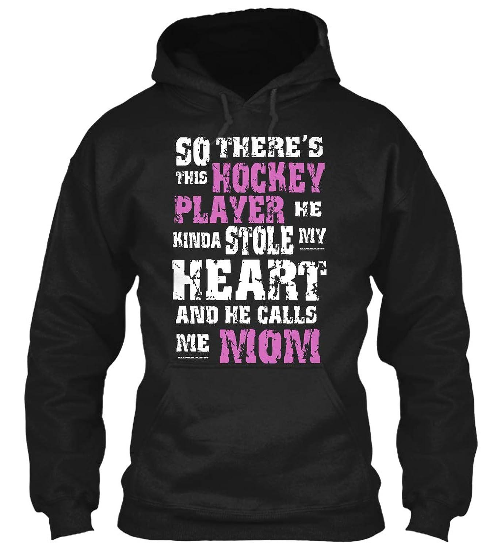 So Theres This Hockey Player he. Sweatshirt - Gildan 8oz...