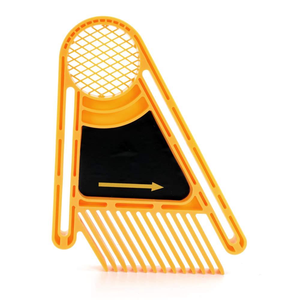 mesas y cercas 2pcs Reverse Engraving Machine Featherboards con piezas Feather Loc Board para mesas de fresadoras Fesjoy Featherboard