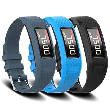 Amazon.com: FUNKID Banda para Garmin Vivofit 1/2 Smartwatch ...