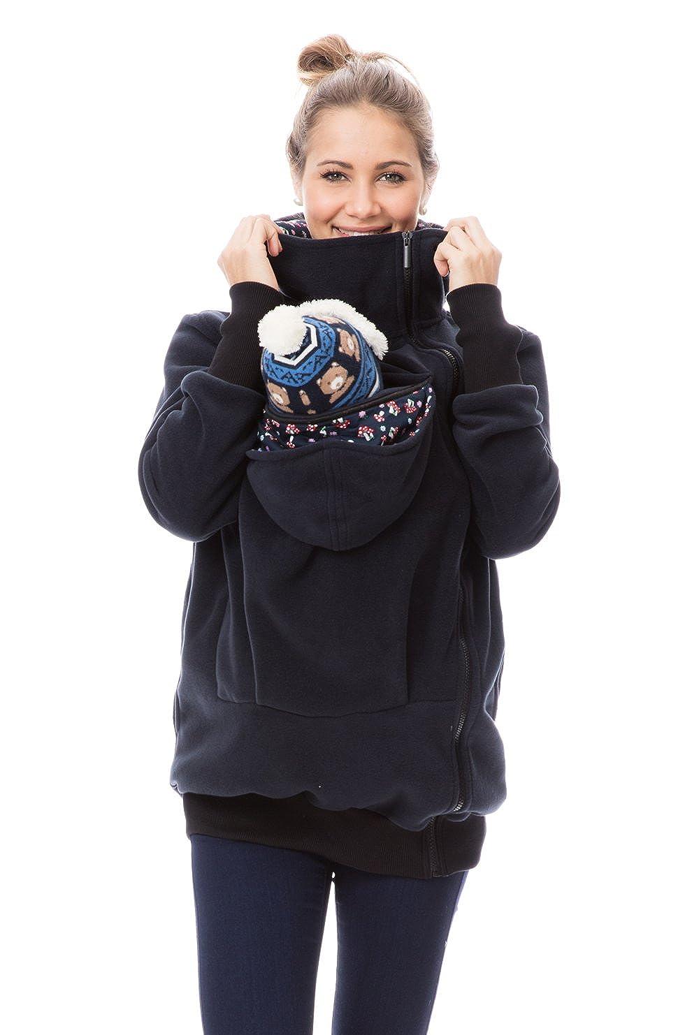 GoFuture Damen Tragejacke für Mama und Baby Känguru Klassiker Viva GF2301 B01N3LCEL3 Jacken Zuverlässiger Ruf