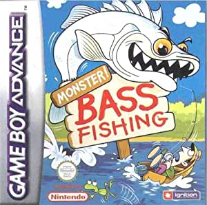 Monster bass fishing game boy advance video for Ps4 bass fishing games