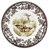 Spode 1606357 Woodland Luncheon Plate (Wood Duck)