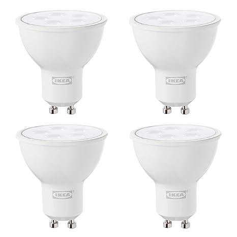 IKEA TRADFRI GU10 - Bombillas LED inteligentes (2700 K, 400 lúmenes, intensidad regulable