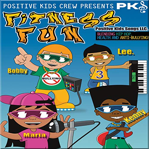 Kids CD & DVD  Fitness Fun  Anti- Bullying  Fruits & Vegetables Animation Video Songs. by Positive Kids Songs