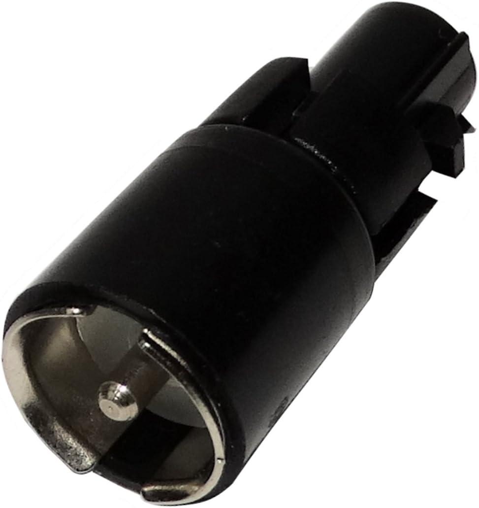 AERZETIX: Conector Adaptador Enchufe de Antena autoradio FAKRA Macho - ISO Macho para Coche vehículos C11997
