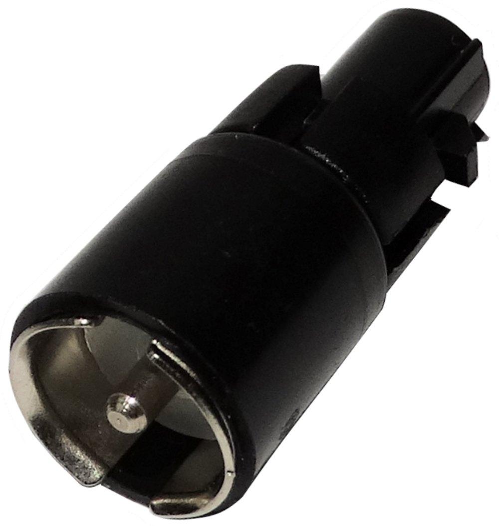 Connecteur adaptateur fiche dantenne autoradio FAKRA m/âle vers ISO m/âle pour auto voiture AERZETIX