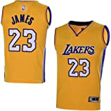 brand new 102d9 2705a Amazon.com: OuterStuff Youth Los Angeles Lakers #23 LeBron ...