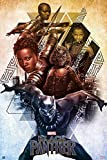 """Black Panther - Marvel Movie Poster / Print (Character Collage) (Size: 24"""" x 36"""") (By POSTER STOP ONLINE)"""
