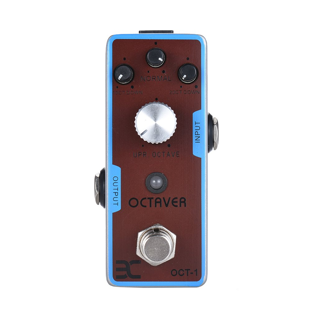ammoon ENO EX OCT-1 OCTAVE Mini Octave Guitar Effect Pedal True Bypass Full Metal Shell by ammoon