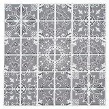 "Ecoart Peel and Stick Wall Tile 10"" X 10""Self"