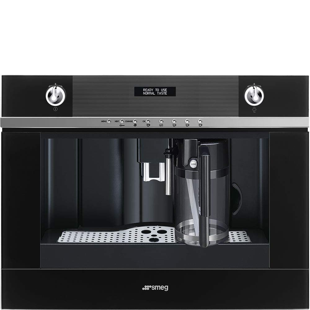 Smeg CMS4101N - Cafetera (Integrado, Cafetera combinada, 1,8 L ...