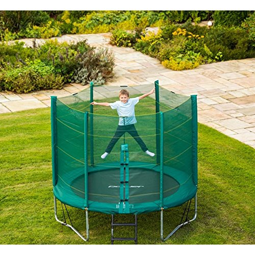 smyths trampoline and enclosure durable support fun for the outdoors with kids and adults