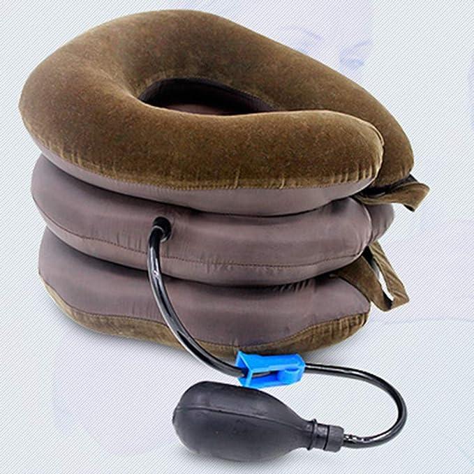 Amazon.com: MG554zy0 Almohada de tracción cervical inflable ...