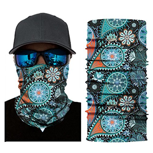 Auwer 3D Stretchable Face Shield Mask Guards Balaclava Headwear for Camping, Cycling, Motorcycling]()