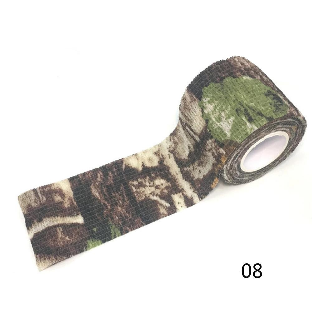 RUNMIND Camouflage Tape Self-adhesive Non-woven Camouflage WRAP Invisible Tape 4.5M Bionics