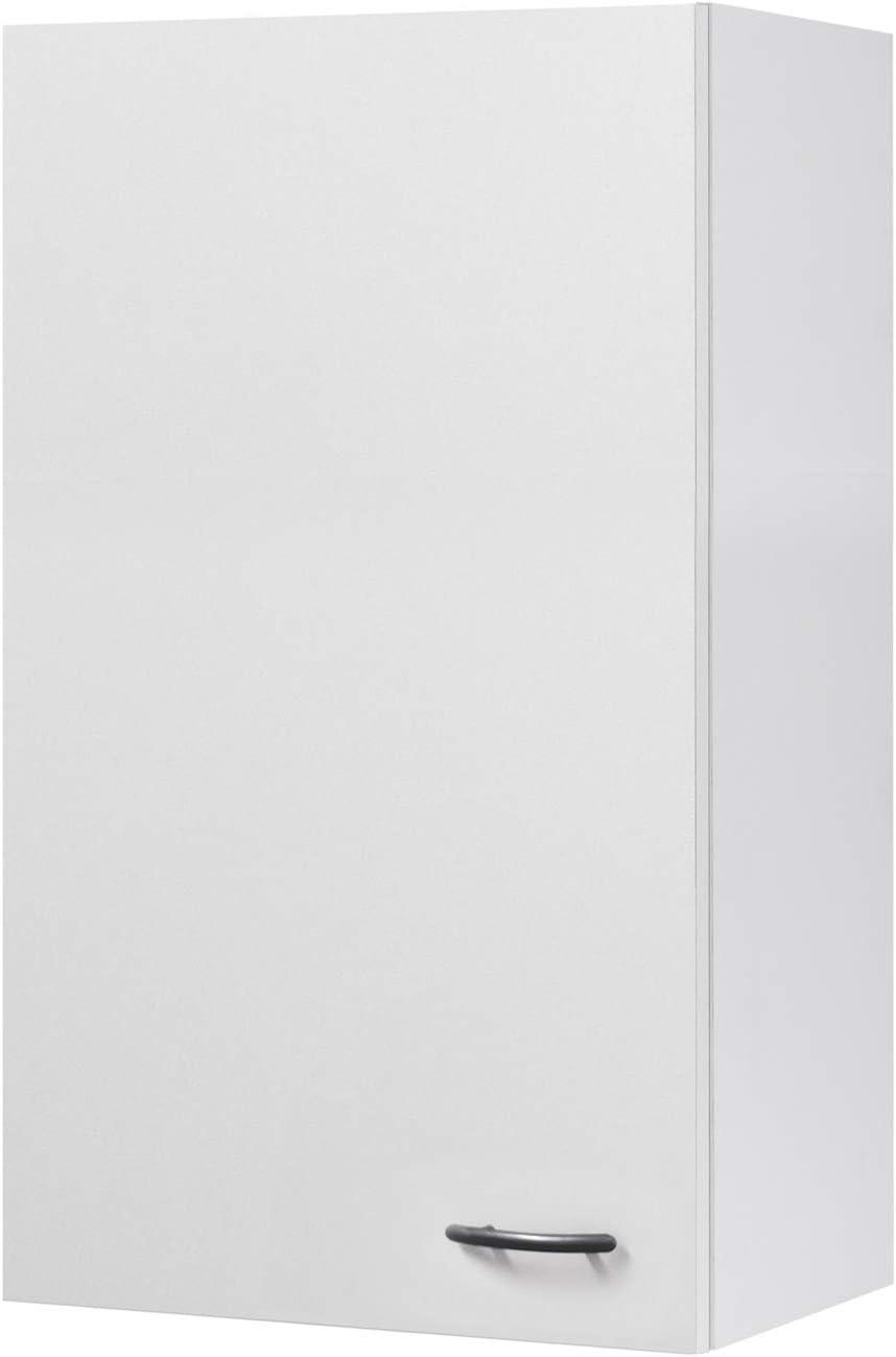 Flex-Well Küchen-Hängeschrank UNNA  Oberschrank vielseitig einsetzbar   20-türig  Breite 20 cm  Höhe 20 cm  Weiß