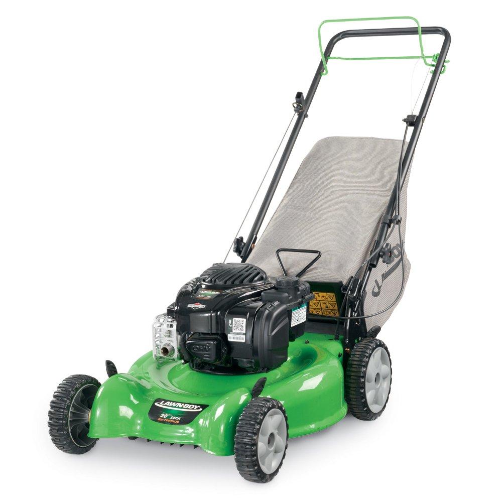 Amazon.com : Lawn Boy 10632 Self Propel HW Lawn Mower, 20-Inch : Walk  Behind Lawn Mowers : Garden & Outdoor