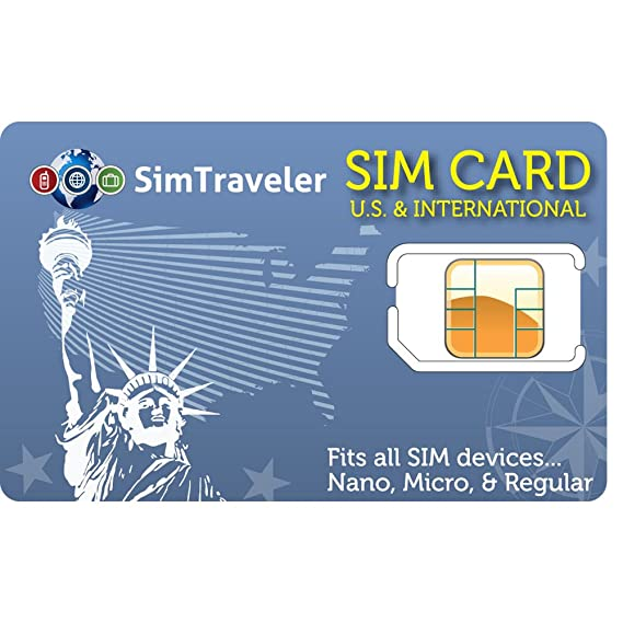sim card for domestic and international calls fits regular micro and nano devices - Phone Card For International Calls