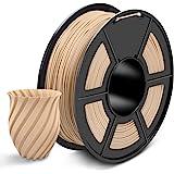SUNLU PLA Plus 3D Filament 1.75mm for 3D Printer & 3D Pens, PLA+ Filament Tolerance Accuracy +/- 0.02 mm (Wood, Wood PLA…
