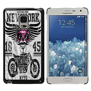 Dragon Case - FOR Samsung Galaxy Mega 5.8 - all the lights are off - Caja protectora de pl??stico duro de la cubierta Dise?¡Ào Slim Fit