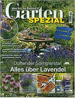 Mein Schoner Garten Spezial 185 2020 Alles Uber Lavendel Amazon De Mein Schoner Garten Spezial Bucher