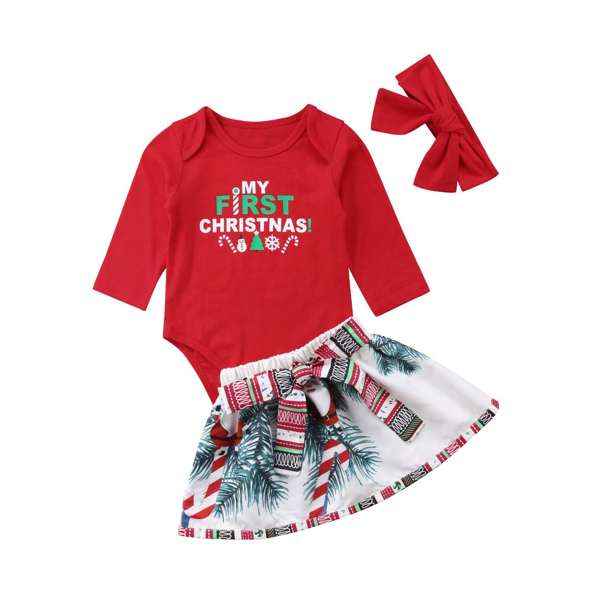Baby Infant Baby Girl Xmas Santa Romper Fancy Tutu Gown Outfit Clothes Full Celestial Satellite Gift