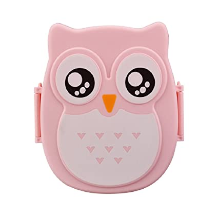 Amazoncom Shensee Cute Owl Lunch Box Food Container Storage Box