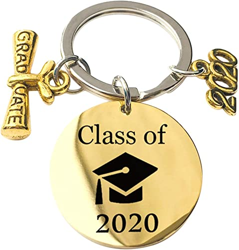 GloryMM My Story is just Beginning Key Chain Jewelry Charm Keychain Class of Graduation Gift for Her and Him