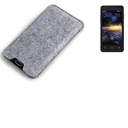 K-S-Trade for Vodafone Smart 4 turbo mobile phone sleeve Smartphone pouch softcase protective bag