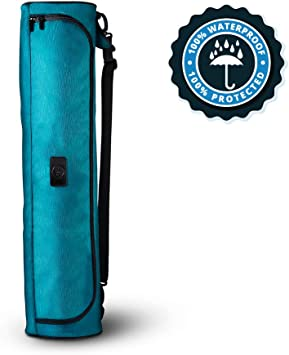 Yoga Mat Bag, Full-Zip, Waterproof bag with Adjustable Shoulder Strap. Yoga Mat Strap, Yoga Bag and Carriers, Yoga Accessories, Yoga Mat Carrier, ...