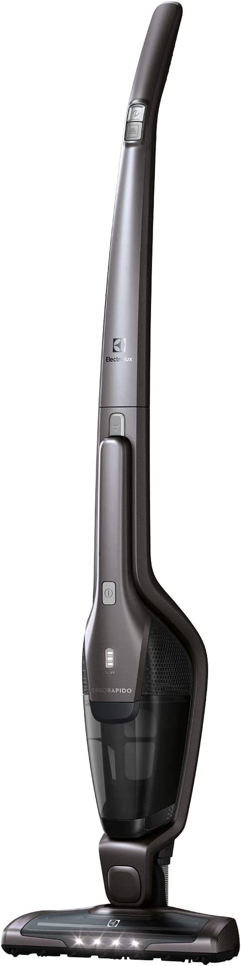 Electrolux EER73IGM Sin Bolsa 0.5L Gris, Metálico - Aspiradora ...