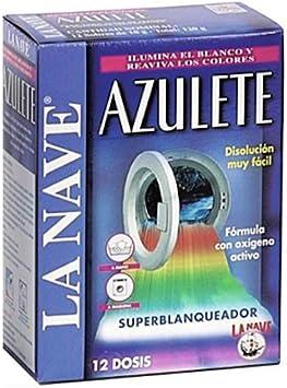 LA NAVE AZULETE Sobres 12X10GR, Multicolor, 12 Unidades
